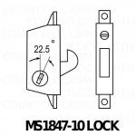 MS1847-10 Dead Lock