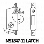 MS1847-11 Deadlatch